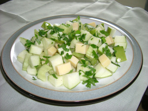 Celery & Apple salad 002