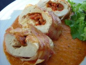 Chicken Red Pepper Sauce 016